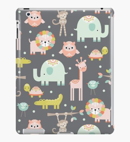 Cute Animal Party iPad Case/Skin