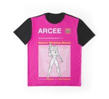 Owners' Manual - Arcee (Transformers) - T-shirt Graphic T-Shirt