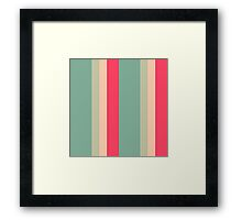 Sweet spring color design by MrN Framed Print