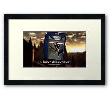 HUECO-ASCENSOR-1 Framed Print
