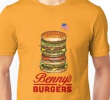 Original Benny's Burgers Stranger Things Eleven Cosplay Shirt Unisex T-Shirt