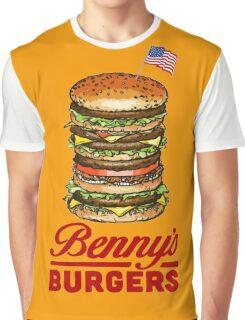 Original Benny's Burgers Stranger Things Eleven Cosplay Shirt Graphic T-Shirt