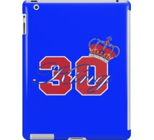 New York Rangers Henrik Lundqvist iPad Case/Skin