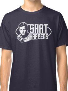 Star Trek Shat Happens Classic T-Shirt