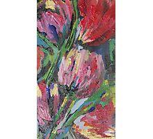 Tulips.  Original Art work by Su Crawford Photographic Print