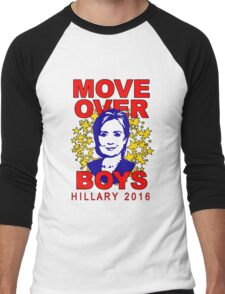 Hillary Clinton Move Over Boys Men's Baseball ¾ T-Shirt