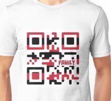 Family QR Code Unisex T-Shirt