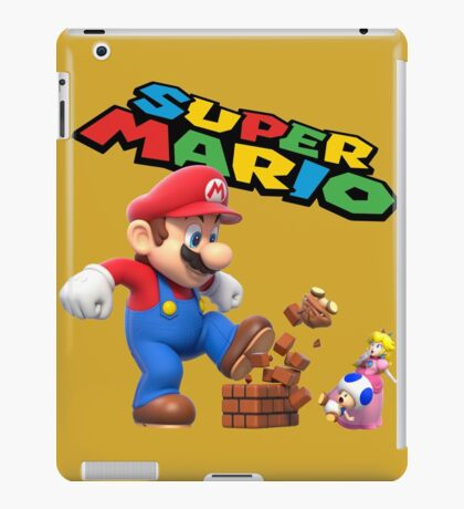 Disney,cartoon,super mario iPad Case/Skin