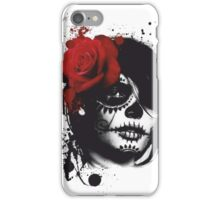 Trash polka woman iPhone Case/Skin
