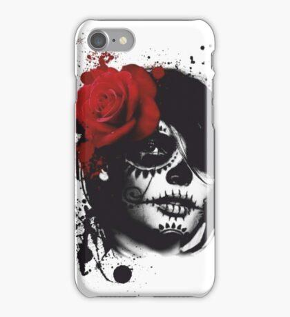 Trash polka woman iPhone Case/Skin