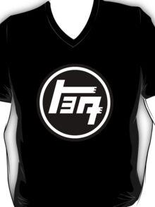 Toyota Emblem, Retro, Black T-Shirt