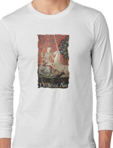 Medieval Art - Lady and the Unicorn  Long Sleeve T-Shirt
