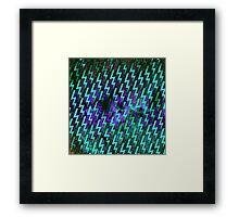 electric storm 3 Framed Print