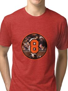 Brandon Belt San Fransisco Giants Number 8 Tri-blend T-Shirt