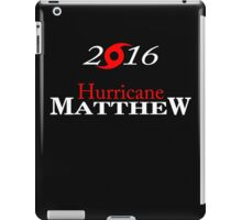 Hurricane Matthew iPad Case/Skin