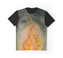 Stars in Firelight Graphic T-Shirt