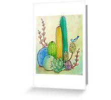 Greener Grass Illusions Greeting Card