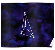 Geometric Cancer Constellation Poster