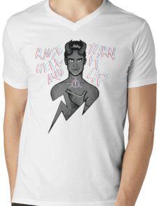 Raise Hell Mens V-Neck T-Shirt