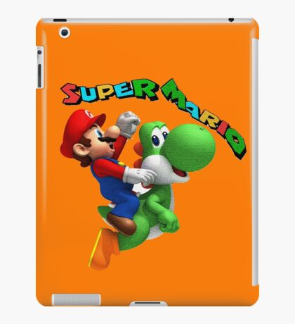 Disney,cartoon,mario bross iPad Case/Skin