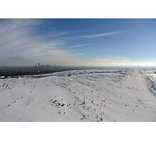 Calgary Kanada Winter Landschaft Foto Photographic Print