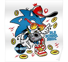 Sonic the Hedgehog - Old School Poster