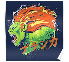 Street Fighter II - Blanka Poster