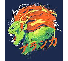 Street Fighter II - Blanka Photographic Print