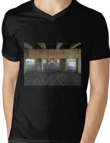 The Bridge's Last Photos Mens V-Neck T-Shirt