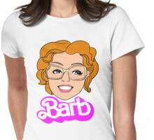 Barb (Barbie Parody) Womens Fitted T-Shirt