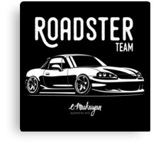Roadster team. Mazda MX5 Miata (NB) Canvas Print