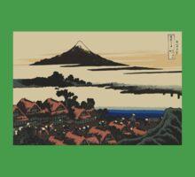 Katsushika, Hokusai, Thirty-six Views of Mount Fuji, no. 43, 7th additional woodcut.  One Piece - Short Sleeve