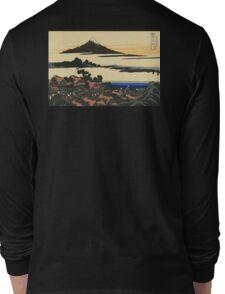 Katsushika, Hokusai, Thirty-six Views of Mount Fuji, no. 43, 7th additional woodcut.  Long Sleeve T-Shirt