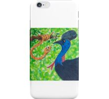 Edgar Taipan meets Cassowary iPhone Case/Skin