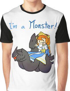 Smite - I'm a monster (Chibi) Graphic T-Shirt