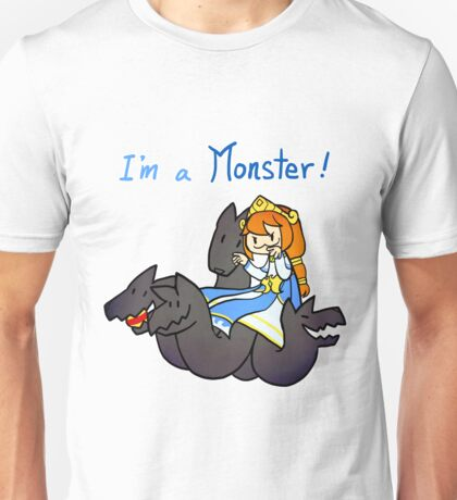 Smite - I'm a monster (Chibi) Unisex T-Shirt