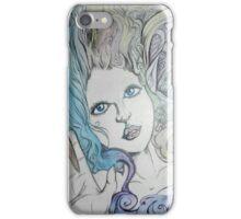 Blue-Eyed Imp iPhone Case/Skin