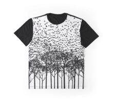 Aki: Monochrome Graphic T-Shirt