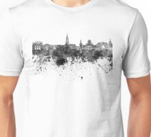 Bern skyline in black watercolor Unisex T-Shirt