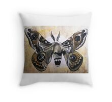 My Screaming Nightmares Throw Pillow