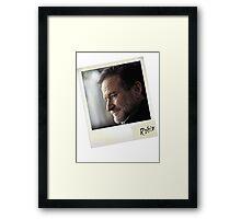 Robin Williams Photograph Framed Print