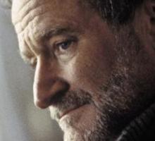 Robin Williams Photograph Sticker