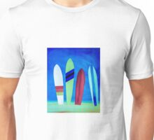 Surf beach Unisex T-Shirt