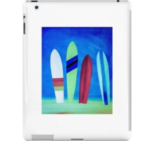 Surf beach iPad Case/Skin