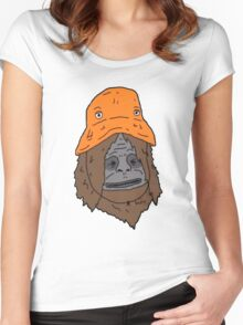Sassy and the Orange Hat Women's Fitted Scoop T-Shirt