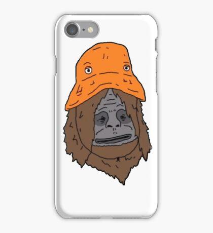 Sassy and the Orange Hat iPhone Case/Skin