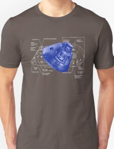Apollo 11 Command Module Columbus T-Shirt