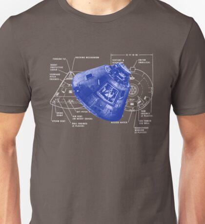 Apollo 11 Command Module Columbus Unisex T-Shirt