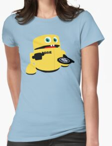 Robie the Robot Coin Eating Bank Womens Fitted T-Shirt