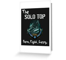 league of legends fiora solo top Greeting Card